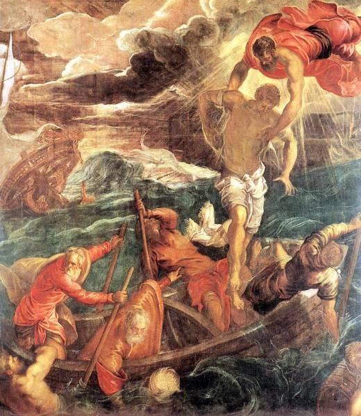 St Mark Saving a Saracen from Shipwreck WGA